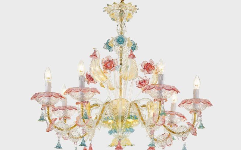 Il meglio del Made in Italy: i lampadari in vetro di Murano