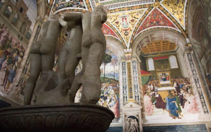 Cosa Vedere di Bello Al Duomo di Siena: La Libreria Piccolomini